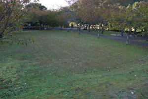 川代公園 テントサイト