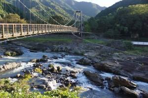 川代公園吊り橋