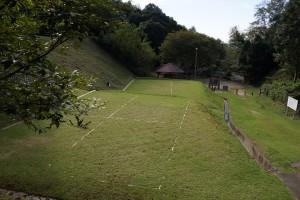 畔田キャンプ場 テントサイト
