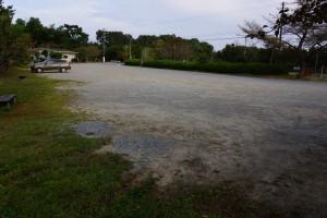 鴨池キャンプ場 駐車場