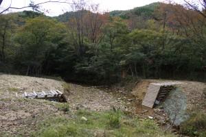 武嶋キャンプ場 治山事業 (2)