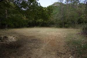 武嶋キャンプ場 テントサイト (2)