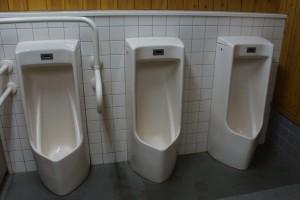 原不動滝 トイレ
