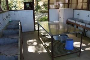 伊丹野外活動センター テントサイト炊事場