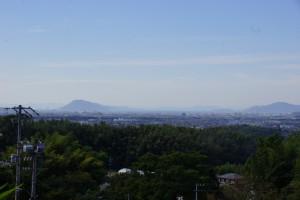 眺望from畔田キャンプ場