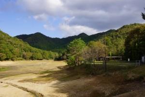 奥山キャンプ場 池