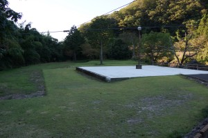 川代公園 テラス