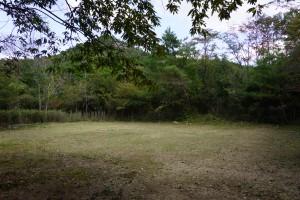 武嶋キャンプ場 テントサイト