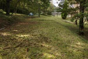 奥山キャンプ場 テントサイト (2)