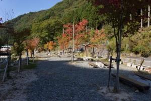 福知渓谷 屋外デイキャンプ場