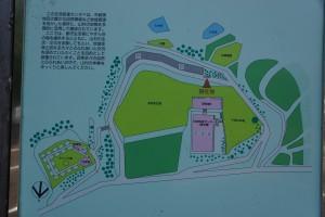 布都美林間学校 現地案内図
