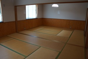 布都美林間学校 宿泊室