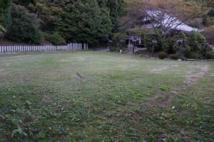 幡降野営場 キャンプサイト