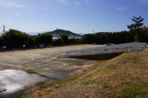 観音寺ファミリーキャンプ場 駐車場