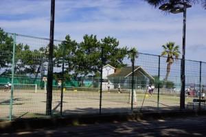 観音寺一の宮海岸 テニスコート