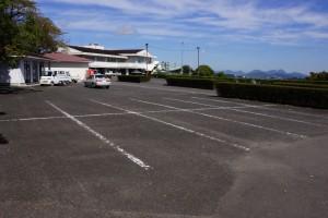 萩の丘公園 駐車場