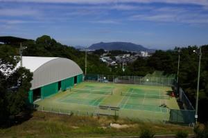 萩の丘公園 テニスコート