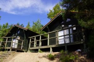 萩の丘公園 ログハウス