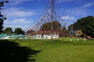 萩の丘公園 遊具広場・幼児プール