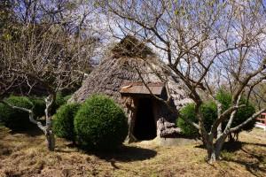 朝日山森林公園 古代住居