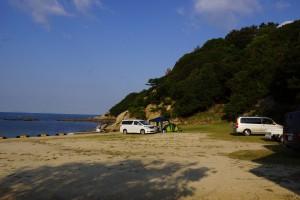 仁老浜 テントサイト