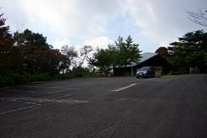 大川山キャンプ場 駐車場