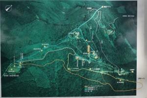 大川山フィールドミュージアムコース現地案内図