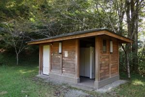 木谷山キャンプ場 トイレ棟