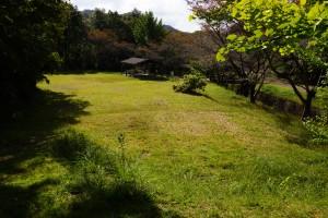 木谷山キャンプ場 テントサイト