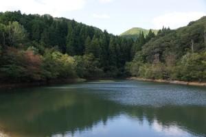 木谷山キャンプ場 池