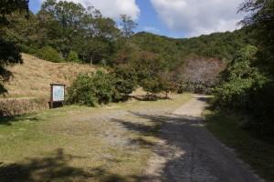 木谷山キャンプ場 駐車場