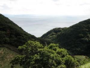 紀淡海峡from立川水仙峡入口