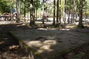 くるみの里キャンプ場 テントサイト (2)