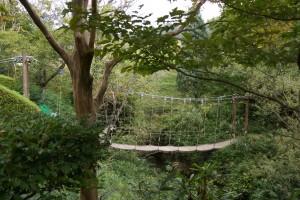 ユニトピアささやま 吊り橋
