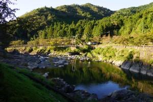 川代公園 篠山川