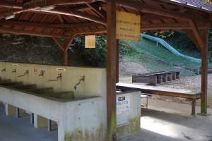 畔田キャンプ場 炊事場