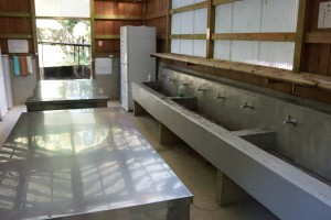 伊丹野外活動センター バンガロー炊事場