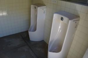畔田キャンプ場 トイレ