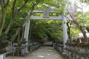 鹿嶋神社参道