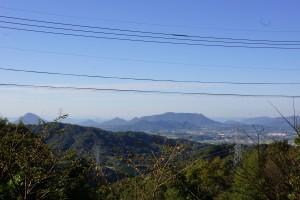 眺望from高鉢山キャンプ場