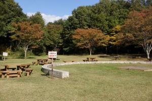 早島ふれあいの森公園 キャンプファイヤー場