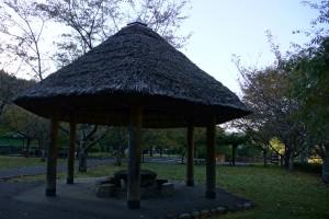 川代公園 東屋・テントサイト