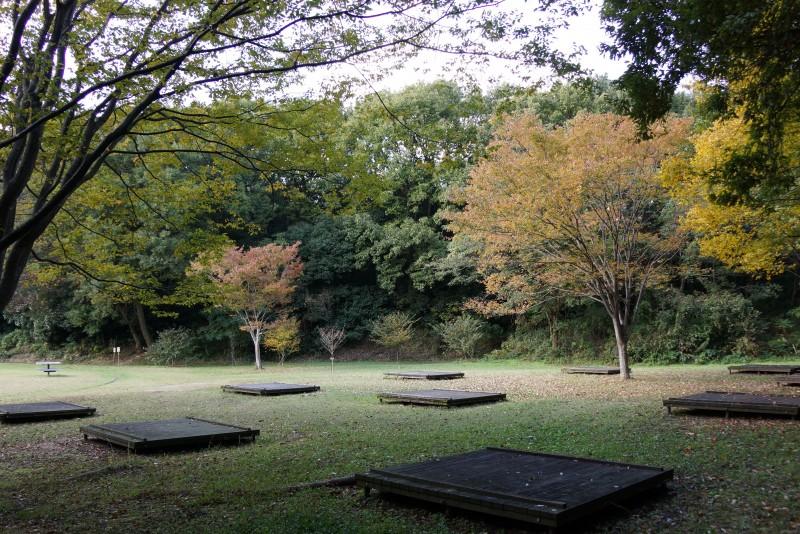 早島ふれあいの森公園 テントサイト