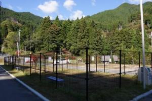 風香荘オートキャンプ場 ドッグラン
